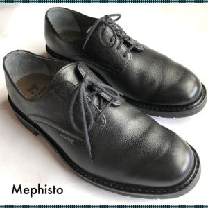 Mephisto Shoes - Mephisto Marlon Derby Oxford Men's Shoes 9.5